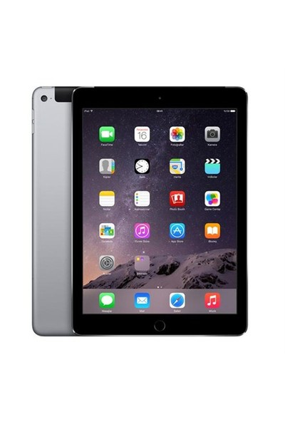 "Apple iPad Air 2 128GB 9.7"" WiFi + 4G Uzay Grisi Retina Ekranlı Tablet MGWL2TU/A"