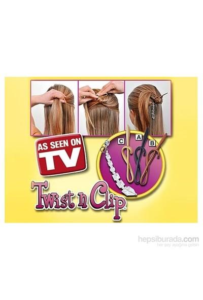 Buffer Twist N Clip Saç Şekillendirme Seti