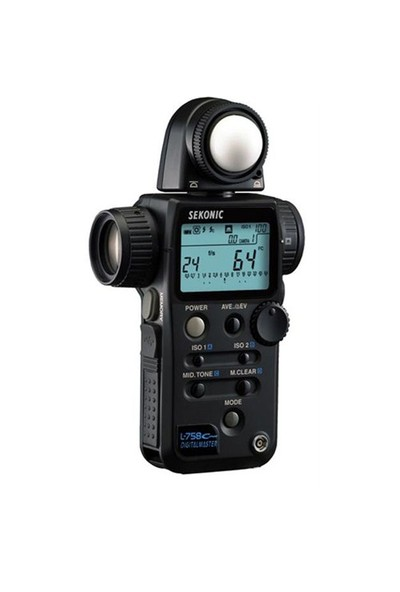 Sekonic L-758 Cine Digital Master Işık Ölçüm Cihazı