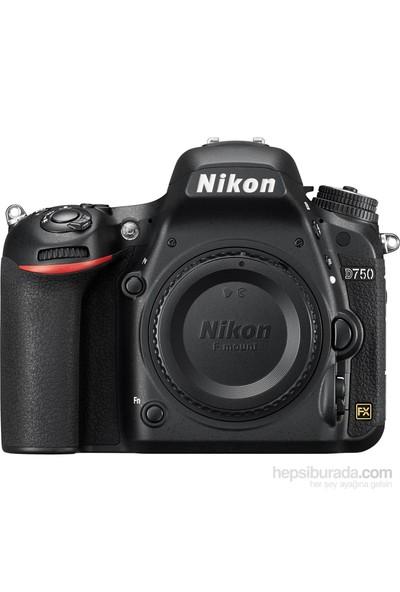 Nikon D750 Body + Çanta + 16 Gb Hafıza Kartı