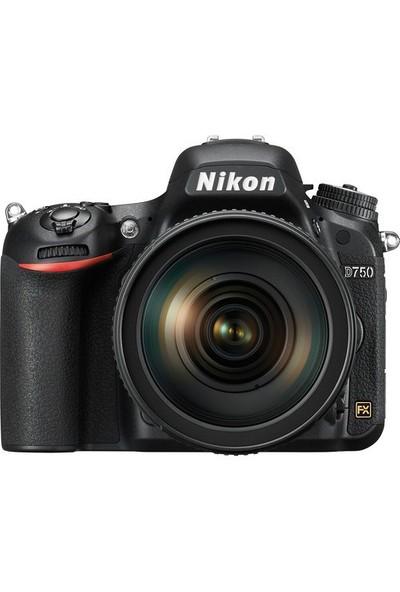 Nikon D750 Body Dijital SLR Fotoğraf Makinesi + 24-120MM F/4G VR Lens Kit