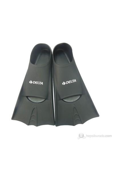 Delta Deluxe Silikon Havuz Ayak Paleti - 41-43 - Siyah