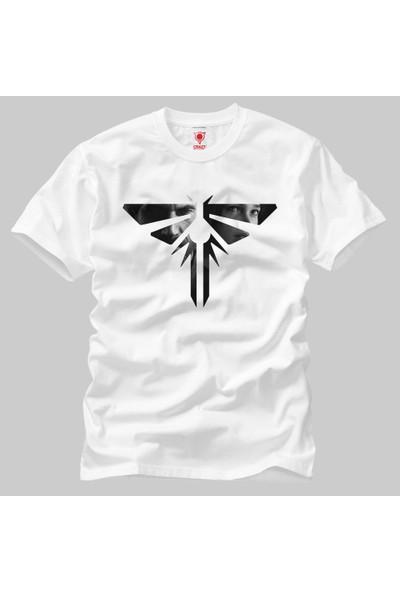 The Last Of Us Logo Erkek Tişört