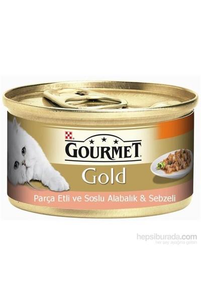 Gourmet Gold Parça Etli Soslu Alabalık Sebzeli Konserve 85 Gr