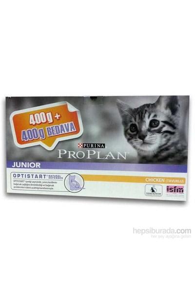 Proplan Junıor Tavuklu Yavru Kedi Maması 400 + 400 gr