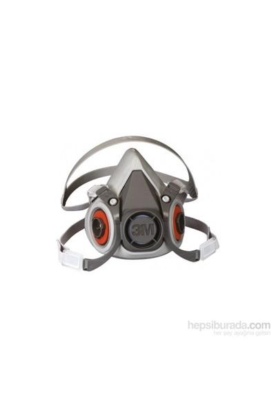 3M 6200 Yarım Yüz Maskesi Orta Boy (M)