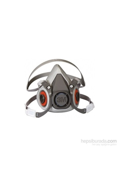 3M 6200 Yarım Yüz Maskesi Orta 3M 6000 Serisi