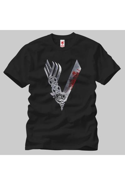 Vikings Logo Erkek Tişört