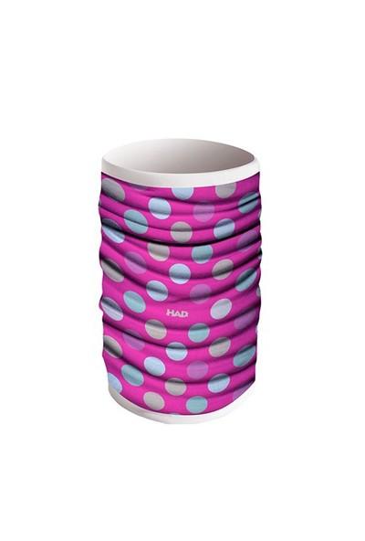 Had Ha490-0367 Reversible Polka Pink