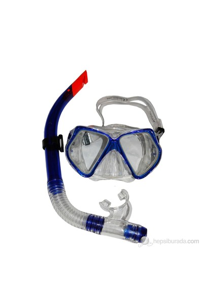Ravel Deluxe Dura-Strong Yetişkin Maske & Şnorkel Set - 4206