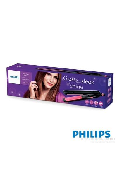 Philips Essential Care HP8323/00 Seramik Turmalin Plakalı Saç Düzleştirici