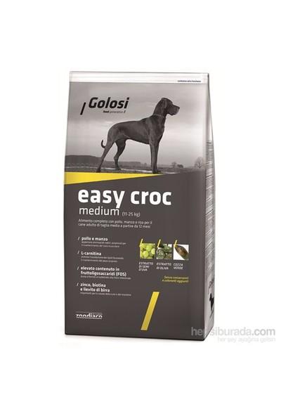 Golosi Dog Easy Croc Tavuk Etli Ve Pirinçli Orta Irk Yetişkin Köpek Maması 3 Kg