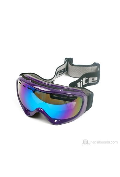Evolite Snow Kayak Gözlüğü Mor