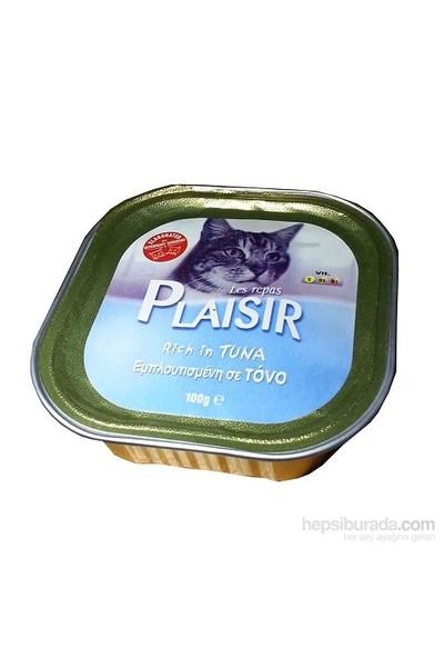 Plaısır Tuna Balıklı Yetişkin Kedi Konservesi Pate 100Gr