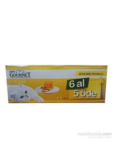 Purina Gourmet Gold Kıyılmış Tavuklu 85 Gr 6 Al 5 Öde! Konserve