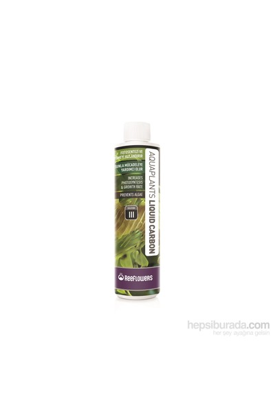 Reeflowers Aquaplants Liquid Carbon - Iıı 85 Ml