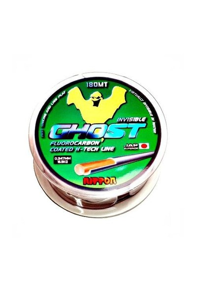 Nippon Ghost Hayalet Misina 180 Mt Floracarbon 0,40 Mm