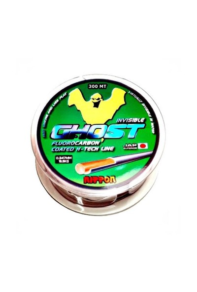 Nippon Ghost Hayalet Misina 300 Mt Floracarbon 0,40 Mm
