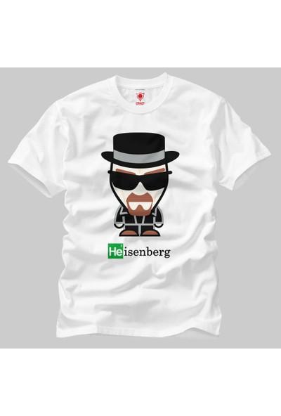 Heisenberg Cartoon Erkek Tişört