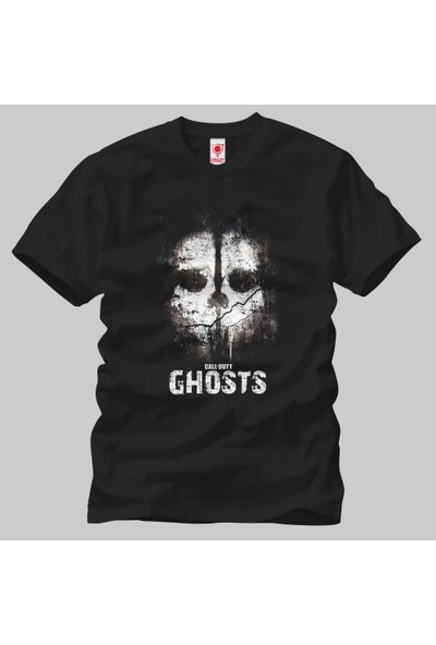 Call Of Duty Ghosts Skull Erkek Tişört