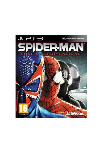 Spiderman Shattered Dimensions Psx3