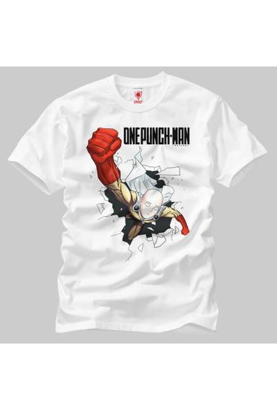 One Punch Man: Punch Erkek Tişört