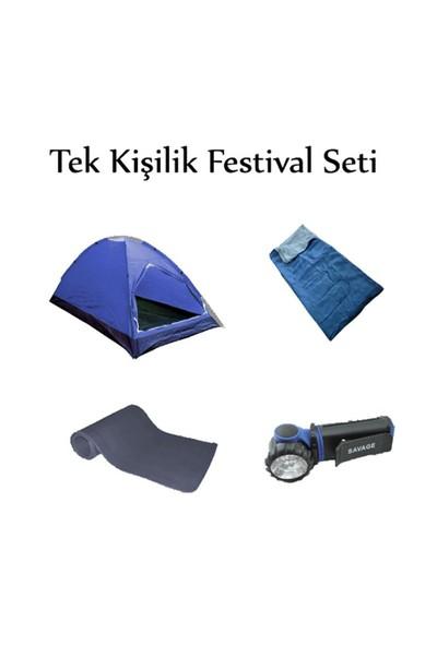 Savage Çadır 1 Kişilik Festival Seti