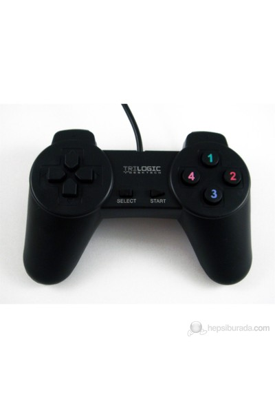 Trilogic GP121 Dijital USB PC Uyumlu Gamepad