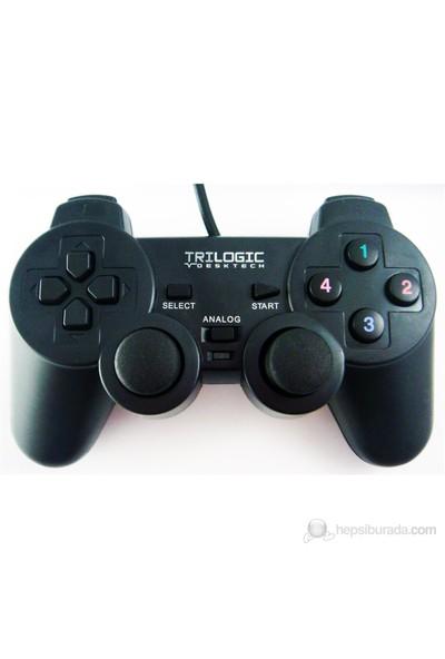 Trilogic GP828 Analog PS3/PS2/USB Uyumlu Gamepad