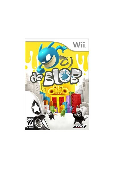 Wii De Blob Sw + Wii Nunchuck Hediyeli