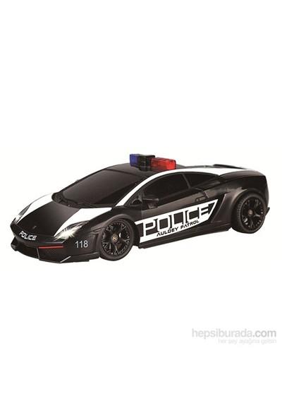 Auldey RC Lamborghini Gallardo Police Uzaktan Kumandalı Araba 1:16