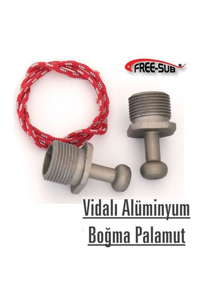 Free-Sub Palamut, Aluminyum Vidalı, Boğma