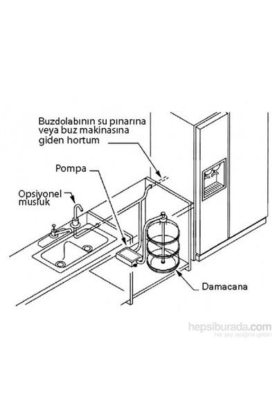 Flojet Damacana Pompası. 12V Dc.