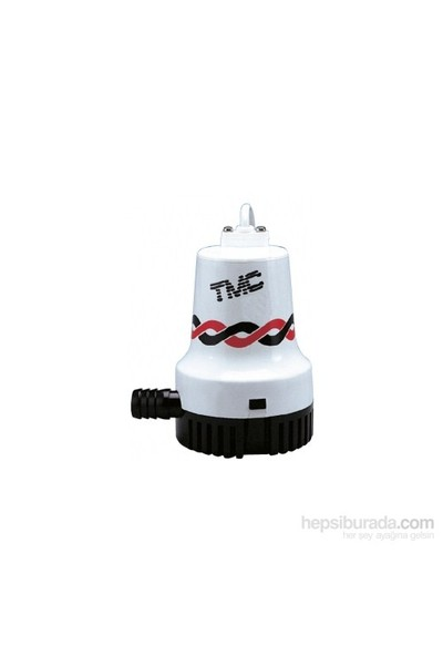 Tmc Sintine Pompası. Kapasite: 2000 Gl/Saat 12Vamper: Basma Yüksekliği: 4 M Ebat: 144X120x164 Mm