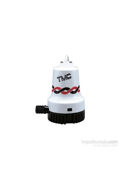 Tmc Sintine Pompası. Kapasite: 3000 Gl/Saat 24Vamper: Basma Yüksekliği: 4.6 Ebat: 166X132x195 Mm