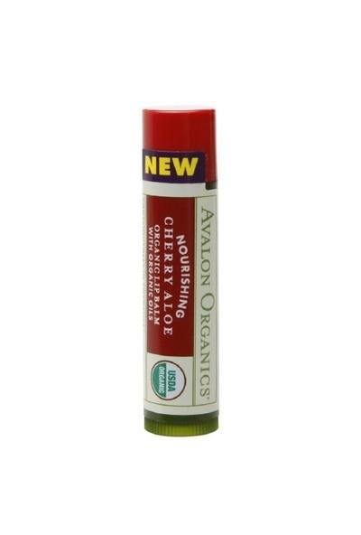 Avalon Organics Aloe Vera - Kiraz Aromalı Besleyici Dudak Balsamı