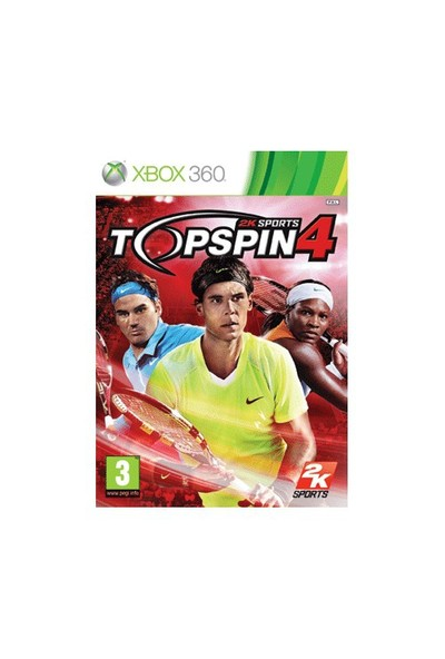 Top Spin 4 XBOX
