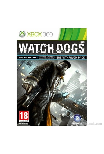 Watch Dogs Special Edition X360