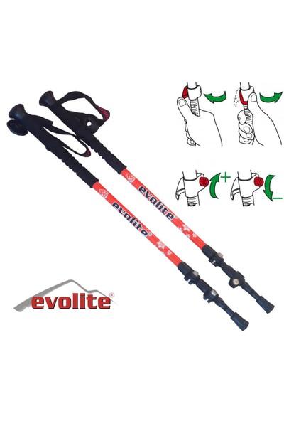 Evolite Speed Lock / Dıştan Ayarlı Kilit Sistemli Trekking Batonu