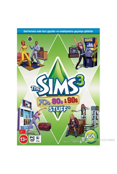 The Sims 3: 70s, 80s and 90s Stuff PC