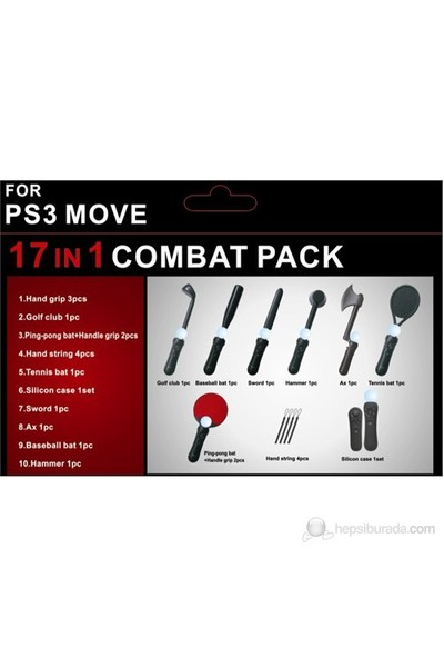 Tasco Sony PS3 Uyumlu HYS-P3086 Move 17 in 1 Set