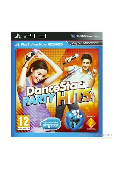 Dance Star Party Hits Move PS3