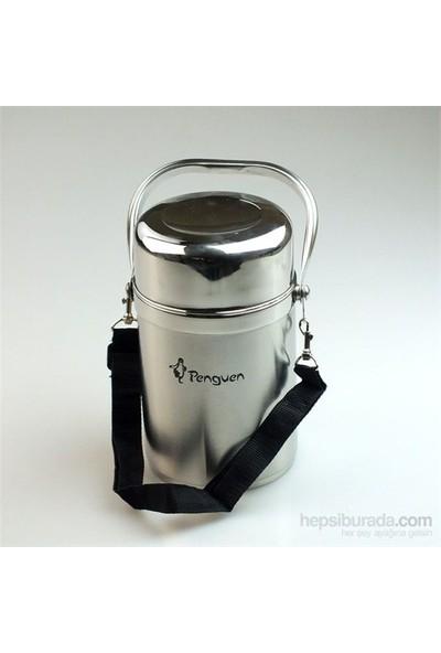 Hiper Penguen 1310 3 Kaplı Yemek Termos Sefer Tası 1.6 litre