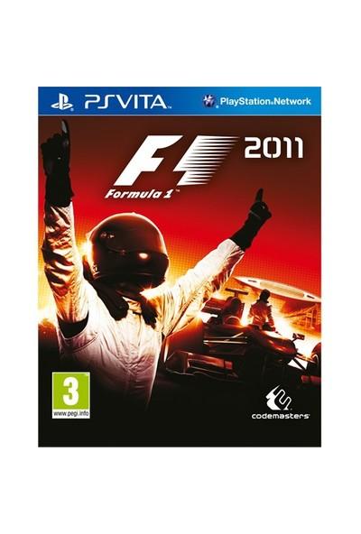 F1 2011 PS Vita