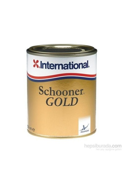 İnternational Schooner Gold Vernik 2,5Lt