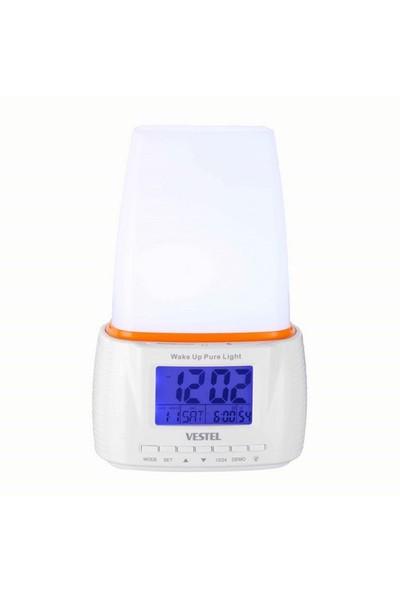 Vestel Wake Up Pure Light Işıklı Ve Alarmlı Dokunmatik Masa Saati