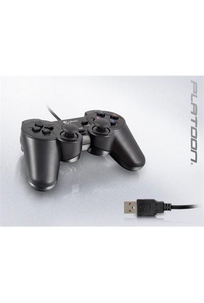 Cyber Pl-2575 Pc Analog Dual Shock Vakumlu Game Pad