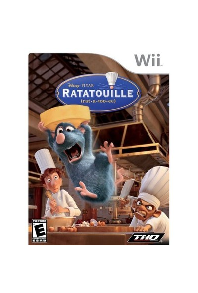 Wii Ratatouille + MADCATZ Nunchuck + Wii Axcess Silicon