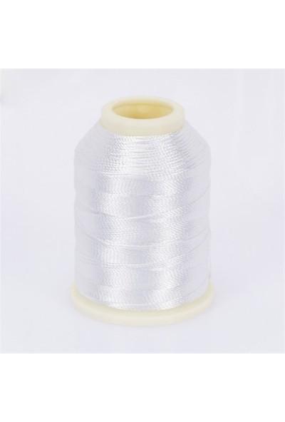 Altınbaşak Beyaz 20 Gr Polyester Dantel İpliği - Beyaz