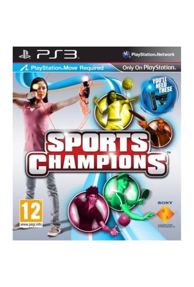 Sports Champions ( Move Uyumlu ) PS3